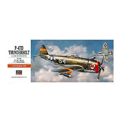Maquette avion: P-47 D Thunderbolt - Hasegawa-00138