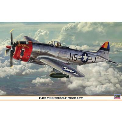 Maquette avion: P-47D Nose Art - Hasegawa-08202