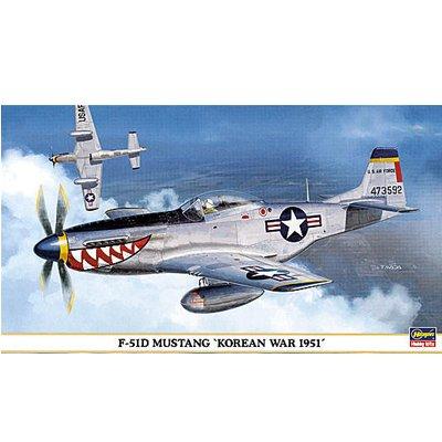 Maquette avion: P-51D Guerre de Corée 1951 - Hasegawa-09362