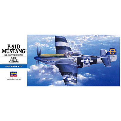 Maquette avion: P-51D Mustang - Hasegawa-01455