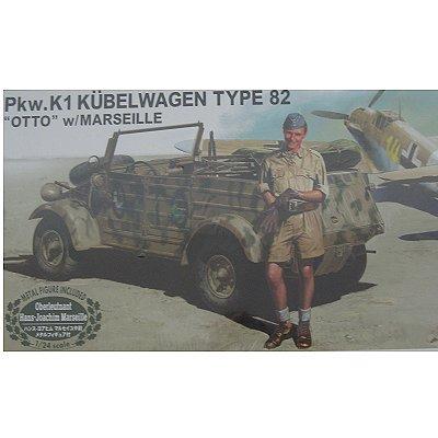 Maquette PKW.K1 Kübelwagen Type 82 Otto - Hasegawa-20228