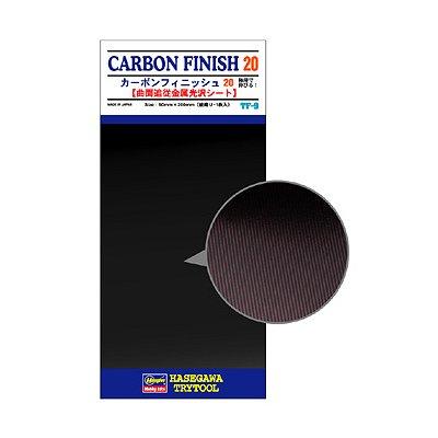 Plaque de finition carbone large - Hasegawa-71810