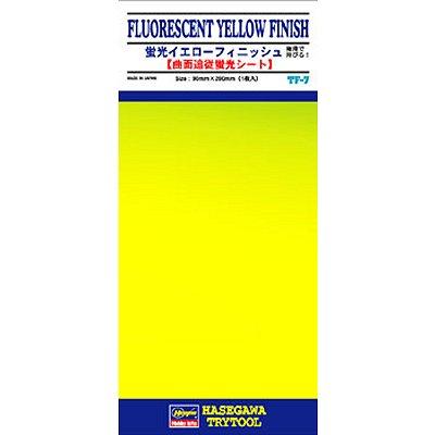 Plaque de finition: Jaune fluorescent - Hasegawa-71807