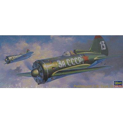 Maquette avion: Polikarpov I-16 TYPE 18 - Hasegawa-51327