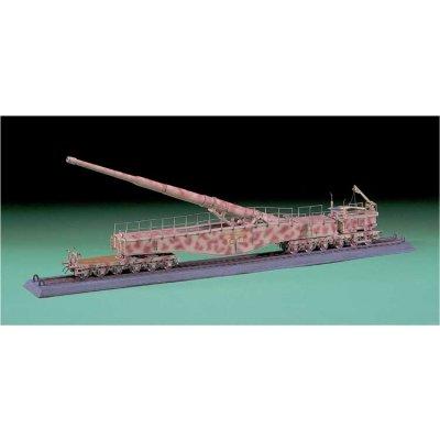 Maquette Canon: Railway Gun Leopold - Hasegawa-31028