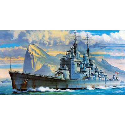 Maquette bateau: Royal Navy HMS Vanguard - Hasegawa-40115
