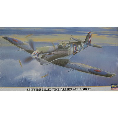 Maquette avion : Spitfire MK.IX The Allies Air Force - Hasegawa-09630