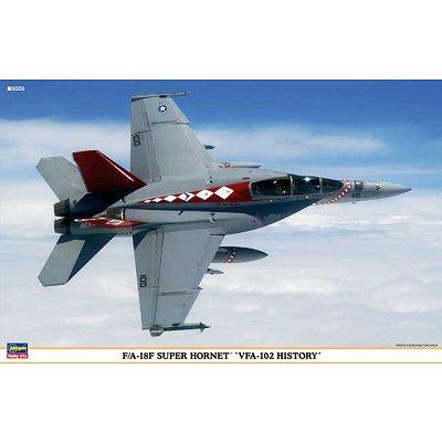 Maquettes avions: Super Hornet F/A-18F VFA-102 History: 2 kits - Hasegawa-00960
