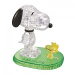 Puzzle 3D : 41 pièces : Snoopy et Woodstock