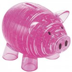 Puzzle 3D - 94 pièces - Cochon rose