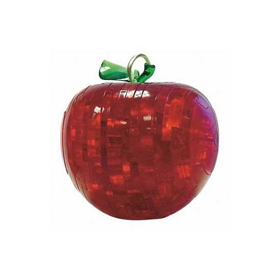 Puzzle 3D - 13 pièces - Mini Pomme rouge - RDP-PO-109303R
