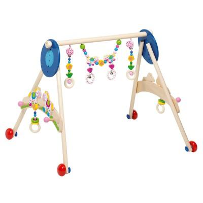 Cheval bascule caramel avec protection amovible jeux et jouets janod av - Cheval a bascule caramel ...