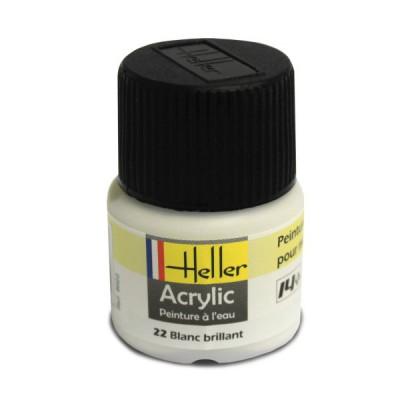 22 - Blanc brillant - Heller-9022