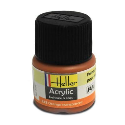 322 - Orange transparent - Heller-9322