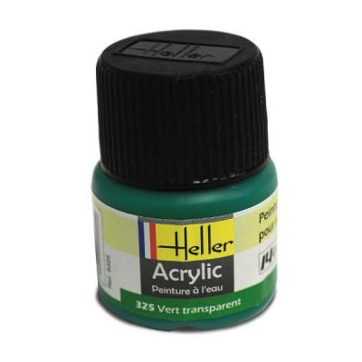 325 - Vert transparent - Heller-9325