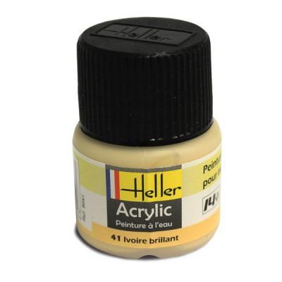 41 - Ivoire brillant - Heller-9041