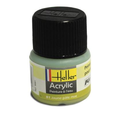 81 - jaune pâle mat - Heller-9081