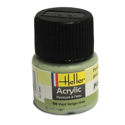 90 - Vert beige mat - Heller-9090