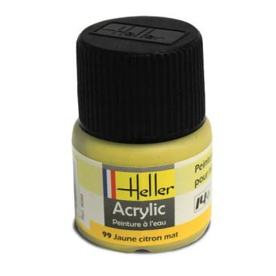 99 - Jaune citron mat - Heller-9099