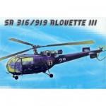 Maquette hélicoptère: Alouette III
