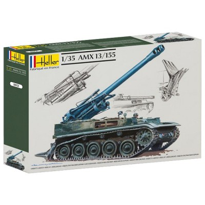 Maquette Char: AMX 13/155 - Heller-81151