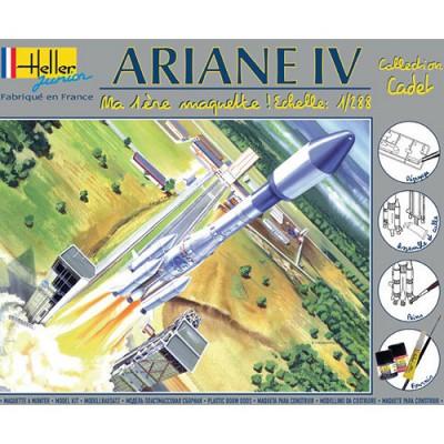 Maquette fusée Ariane IV: Ma première maquette - Heller-49071