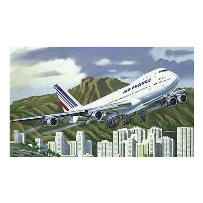 Maquette avion : Boeing 747 Air France - Heller-80459