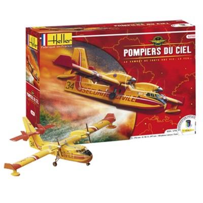 Maquette avion: Canadair : Pompiers du ciel - Heller-52702