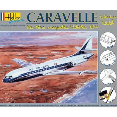 Maquette avion: Caravelle: Ma première maquette - Heller-49074
