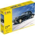 Maquette voiture: Citroën 15 CV noire