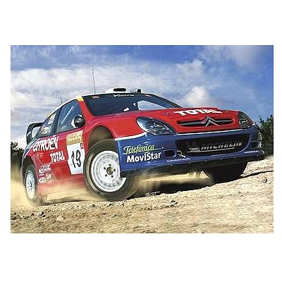 Maquette voiture : Citroën Xsara WRC '03 - Heller-80751
