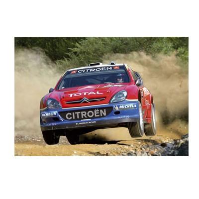 Maquette voiture : Citroën Xsara WRC 05 - Heller-80114
