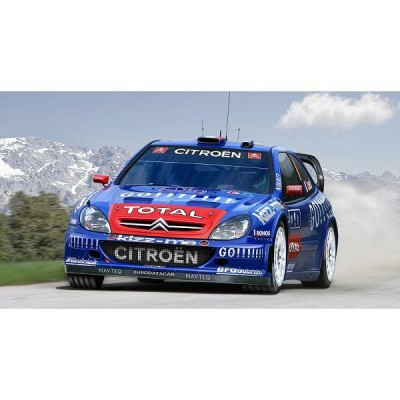 Maquette voiture : Citroën Xsara WRC '06 - Heller-80116