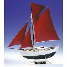 Maquette bateau: Cotre Kurun