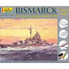 Maquette bateau: Cuirassé Bismarck: Ma première maquette