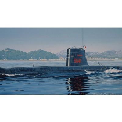 Maquette sous-marinfrançais Daphné - Heller-81069