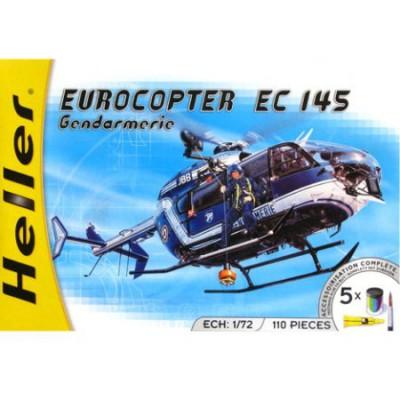 Maquette hélicoptère: Eurocopter EC 145 Gendarmerie - Heller-50378