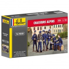 Figurines militaires : Chasseurs alpins