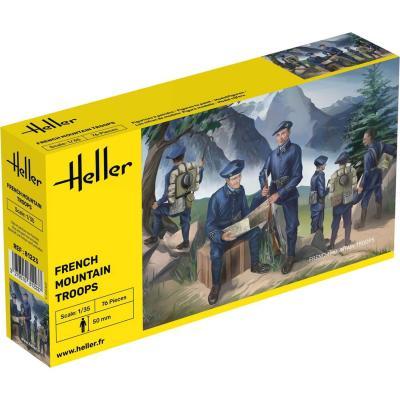 Figurines militaires : Chasseurs alpins - Heller-81223
