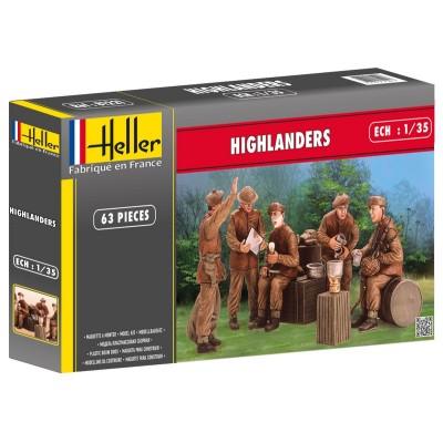 Figurines militaires : Highlanders - Heller-81221