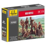 Figurines militaires : Red Devils