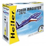 Maquette avion : Kit complet : Fouga Magister CM170