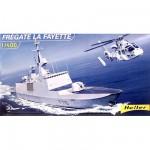 Maquette bateau: Frégate La Fayette