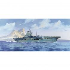 Maquette bateau: Porte-avions HMS Illustrious