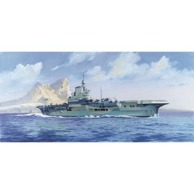 Maquette bateau: Porte-avions HMS Illustrious - Heller-81089