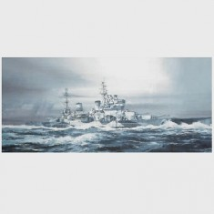 Maquette bateau: HMS King George V