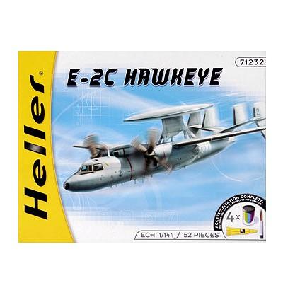 Maquette avion : Kit complet: E-2C Hawkeye - Heller-49911