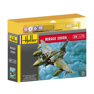 Maquette avion : Kit complet : Mirage 2000 N - Heller-50321