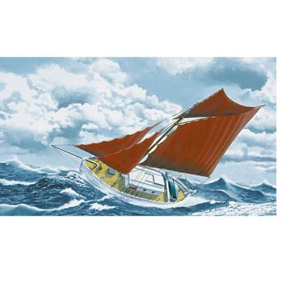 Maquette bateau: Kit complet : Cotre Kurun - Heller-50614
