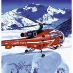 Maquette hélicoptère: Kit complet: Alouette III Sécurité Civile